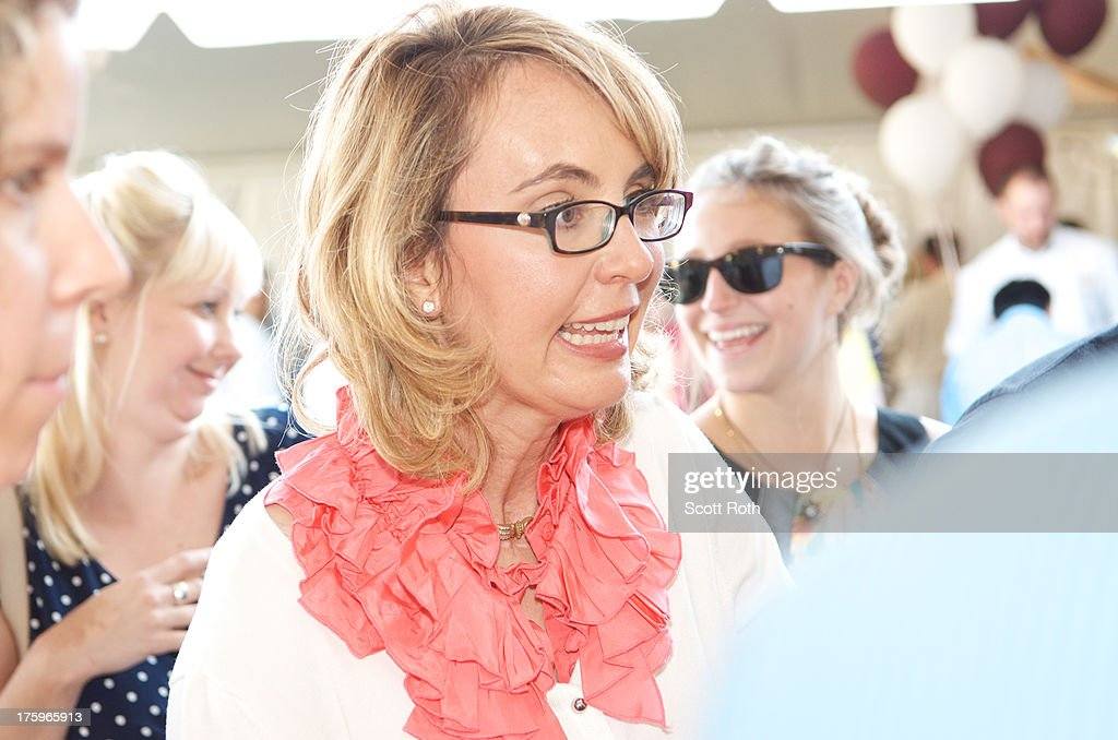 Gabrielle Giffords attends 9th Annual Authors Night at The East Hampton Library on August 10, 2013 in East Hampton, New York.