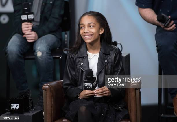 Gabrielle Greene visits Build Series to discuss the 2nd anniversary of 'School Of Rock' at Build Studio on December 8 2017 in New York City