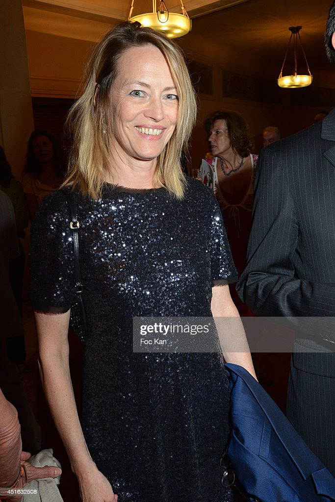 <a gi-track='captionPersonalityLinkClicked' href=/galleries/search?phrase=Gabrielle+Lazure&family=editorial&specificpeople=790679 ng-click='$event.stopPropagation()'>Gabrielle Lazure</a> attends the '20th Amnesty International France' : Gala At Theatre Des champs Elysees on July 2, 2014 in Paris, France.