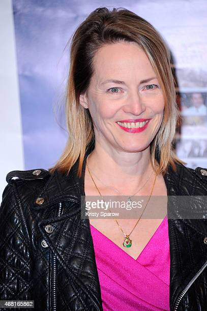 Gabrielle Lazure attends the Henri Langlois 10th Annual Award Ceremony at UNESCO on March 30 2015 in Paris France