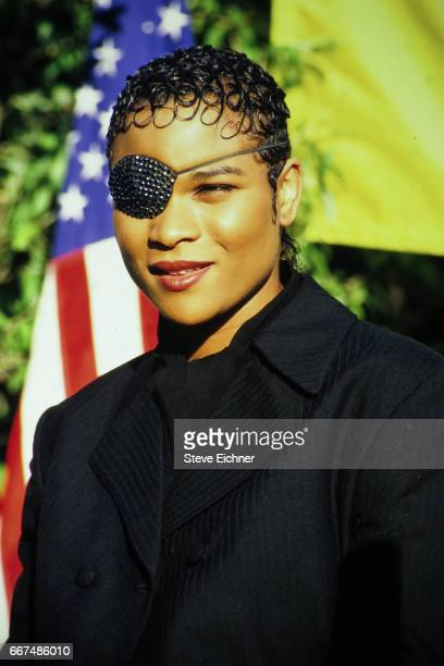 Gabrielle performs at the Kiss concert in Great Woods Mansfield Massachusettes June 4 1994