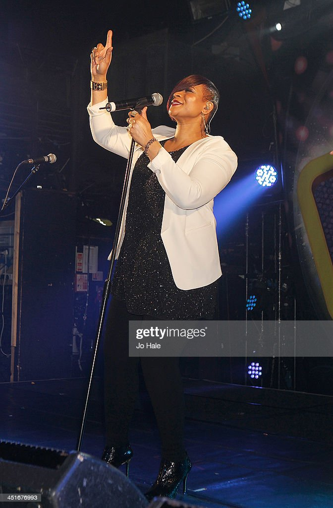 <a gi-track='captionPersonalityLinkClicked' href=/galleries/search?phrase=Gabrielle+-+Singer&family=editorial&specificpeople=13936660 ng-click='$event.stopPropagation()'>Gabrielle</a> performs on stage at G-A-Y Heaven on November 24, 2013 in London, England.