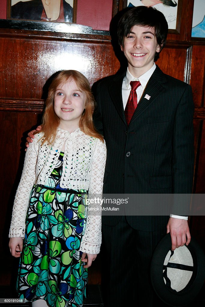 Gabrielle Piacontile and Henry Hodges attend Broadway Premiere of Macbeth Starring Patrick Stewart at The Lyceum Theater on April 8, 2008 in New York City.
