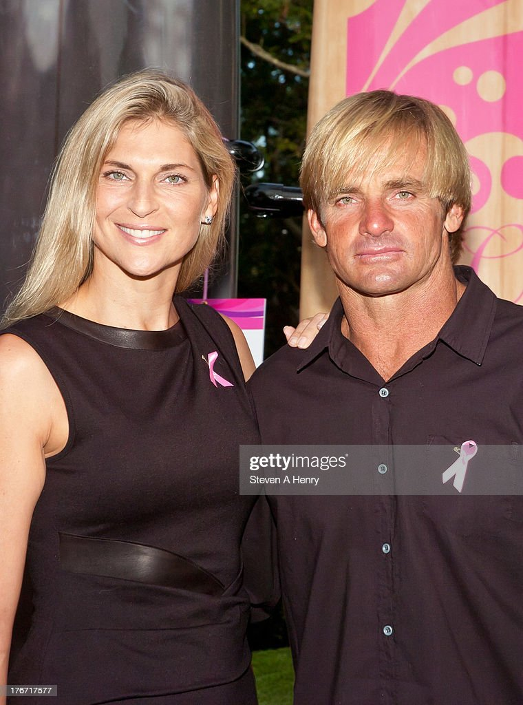<a gi-track='captionPersonalityLinkClicked' href=/galleries/search?phrase=Gabrielle+Reece&family=editorial&specificpeople=224806 ng-click='$event.stopPropagation()'>Gabrielle Reece</a> and <a gi-track='captionPersonalityLinkClicked' href=/galleries/search?phrase=Laird+Hamilton&family=editorial&specificpeople=184644 ng-click='$event.stopPropagation()'>Laird Hamilton</a> attend the 2nd annual Paddle & Party for Pink on August 17, 2013 in Sag Harbor, New York.
