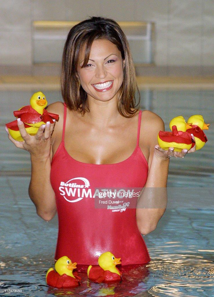 Gabrielle Richens Launches Butlins Swimathon 2003