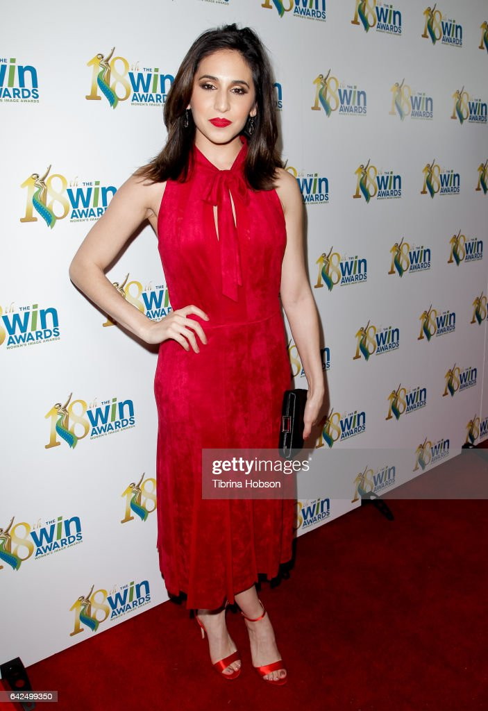 Gabrielle Ruiz attends the 18th Annual Women's Image Awards at Skirball Cultural Center on February 17, 2017 in Los Angeles, California.