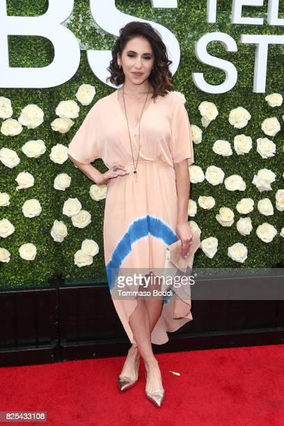 Gabrielle Ruiz attends the 2017 Summer TCA Tour CBS Television Studios' Summer Soiree at CBS Studios Radford on August 1 2017 in Studio City...