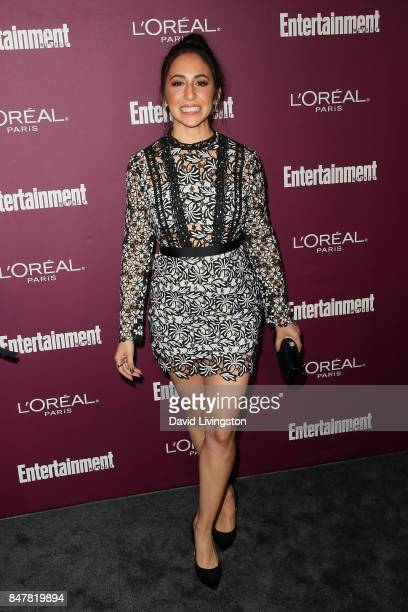 Gabrielle Ruiz attends the Entertainment Weekly's 2017 PreEmmy Party at the Sunset Tower Hotel on September 15 2017 in West Hollywood California
