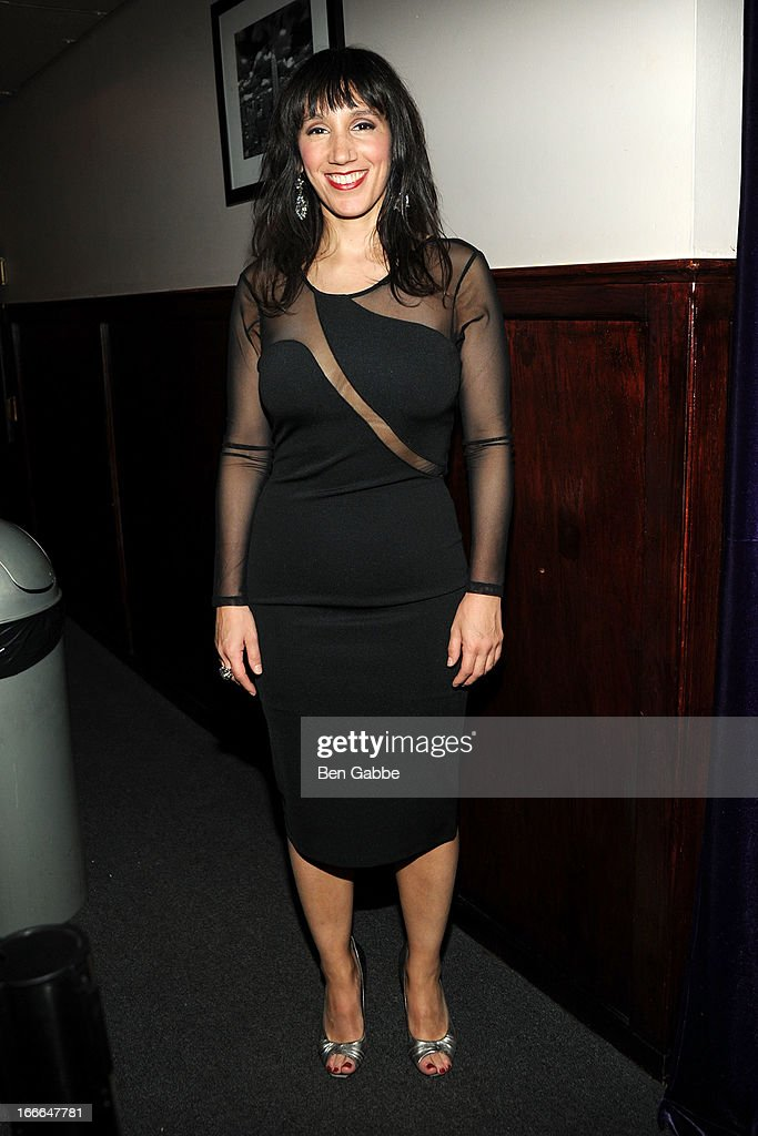 Gabrielle Stravelli attends A Swell Party To Benefit the Actors Fund at the Metropolitan Room on April 14, 2013 in New York City.