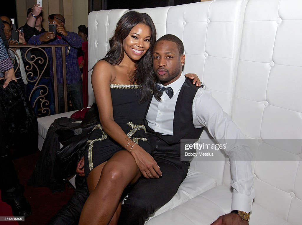 <a gi-track='captionPersonalityLinkClicked' href=/galleries/search?phrase=Gabrielle+Union&family=editorial&specificpeople=202066 ng-click='$event.stopPropagation()'>Gabrielle Union</a> and <a gi-track='captionPersonalityLinkClicked' href=/galleries/search?phrase=Dwyane+Wade&family=editorial&specificpeople=201481 ng-click='$event.stopPropagation()'>Dwyane Wade</a> are seen during NBA All-Star Weekend 2014 at on February 14, 2014 in New Orleans, Louisiana.