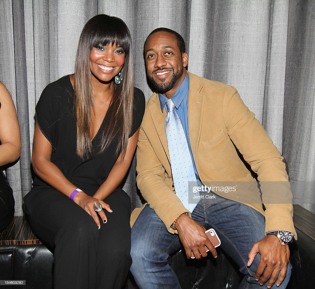 Gabrielle Union and Jaleel White celebrate her 40th Birthday Party With Courvoisier Gold at the Dream Downtown on October 22, 2012 in New York City.