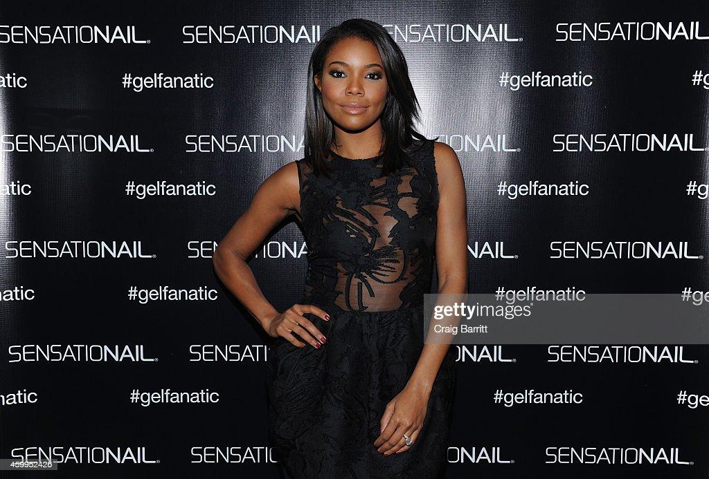 SensatioNail Introduces New Gel Fanatic, Actress Gabrielle Union