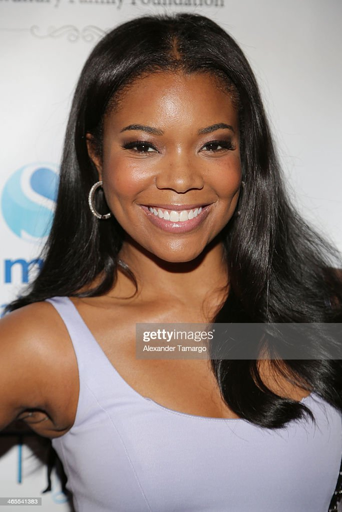 <a gi-track='captionPersonalityLinkClicked' href=/galleries/search?phrase=Gabrielle+Union&family=editorial&specificpeople=202066 ng-click='$event.stopPropagation()'>Gabrielle Union</a> arrives at South Beach Battioke 2014 at Fillmore Miami Beach on January 27, 2014 in Miami Beach, Florida.