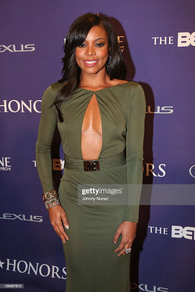 <a gi-track='captionPersonalityLinkClicked' href=/galleries/search?phrase=Gabrielle+Union&family=editorial&specificpeople=202066 ng-click='$event.stopPropagation()'>Gabrielle Union</a> attends BET Honors 2013 at Warner Theatre on January 12, 2013 in Washington, DC.