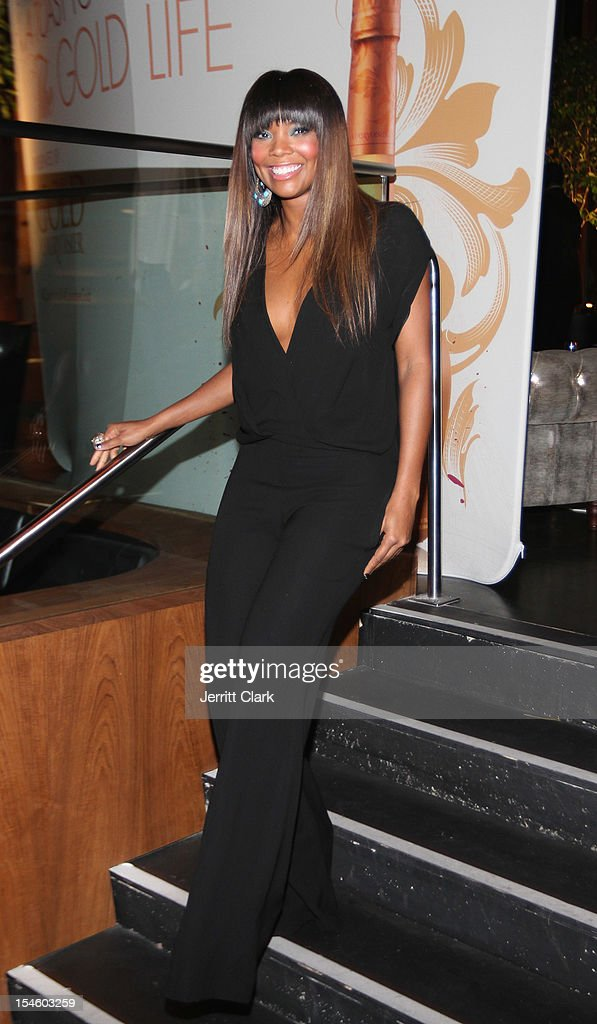 Gabrielle Union attends her 40th Birthday Party With Courvoisier Gold at the Dream Downtown on October 22, 2012 in New York City.