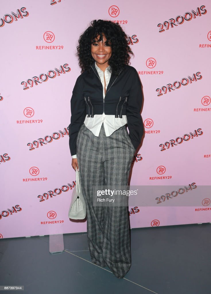 Gabrielle Union attends Refinery29 29Rooms Los Angeles: Turn It Into Art Opening Night Party at ROW DTLA on December 6, 2017 in Los Angeles, California.