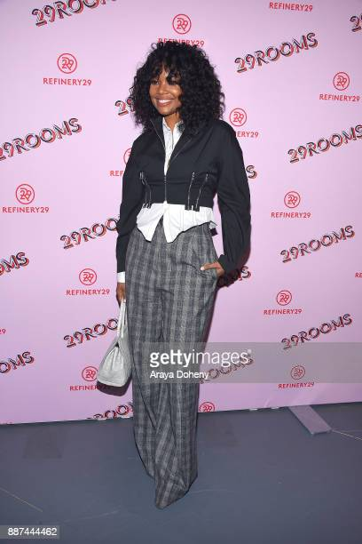 Gabrielle Union attends Refinery29 29Rooms Los Angeles Turn It Into Art at ROW DTLA on December 6 2017 in Los Angeles California