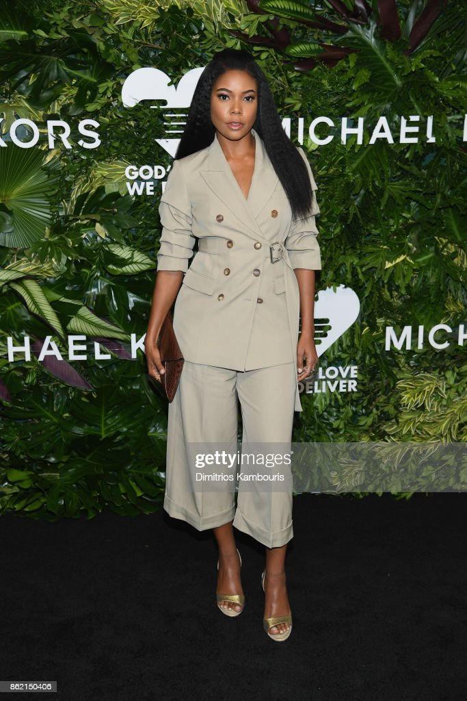 Gabrielle Union attends the 11th Annual Golden Heart Awards benefiting God's Love We Deliver on October 16, 2017 in New York City.