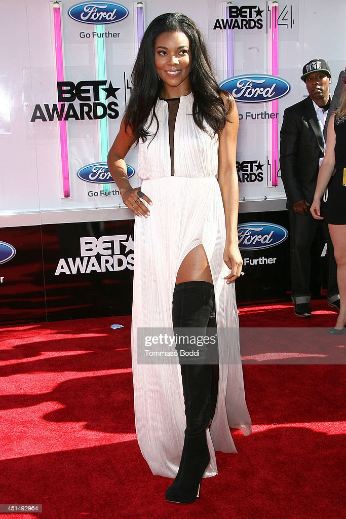 Gabrielle Union attends the 'BET AWARDS' 14 held at Nokia Theatre L.A. Live on June 29, 2014 in Los Angeles, California.