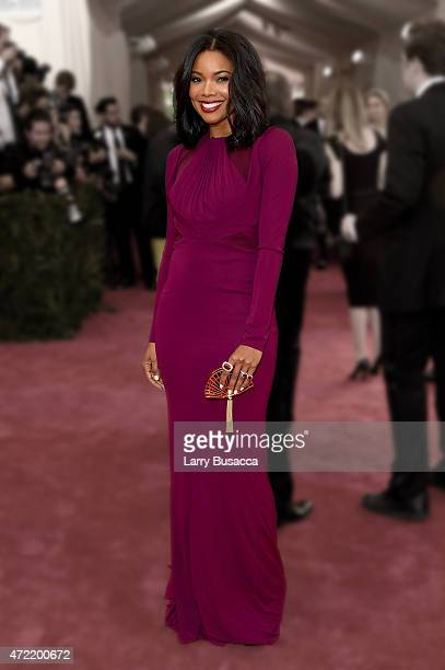 Gabrielle Union attends the 'China Through The Looking Glass' Costume Institute Benefit Gala at the Metropolitan Museum of Art on May 4 2015 in New...