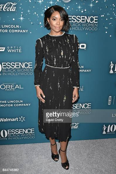 Gabrielle Union attends the Essence 10th Annual Black Women In Hollywood Awards Gala at the Beverly Wilshire Four Seasons Hotel on February 23 2017...