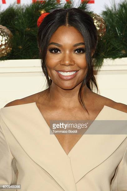 Gabrielle Union attends the premiere of Universal's 'Almost Christmas' at Regency Village Theatre on November 3 2016 in Westwood California