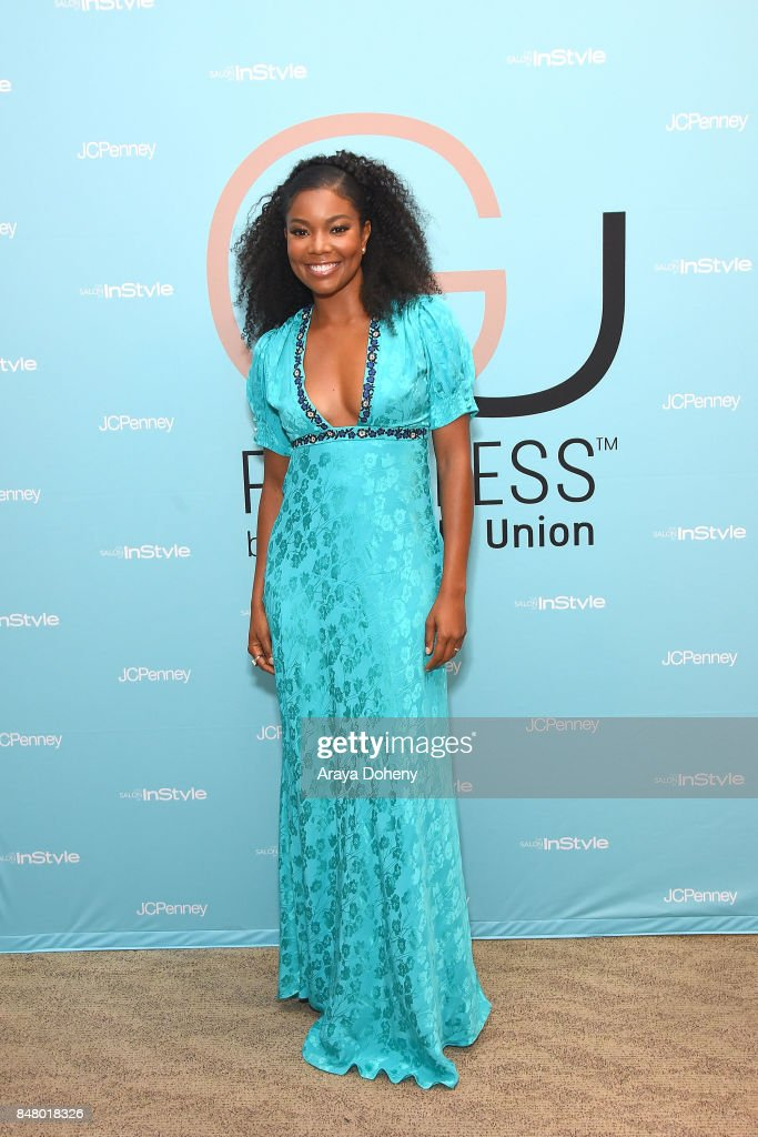 Gabrielle Union attends The Salon By InStyle Inside JCPenney Hosts Meet and Greet with Gabrielle Union at The SALON by InStyle Inside JCPenney on September 16, 2017 in Glendale, California.