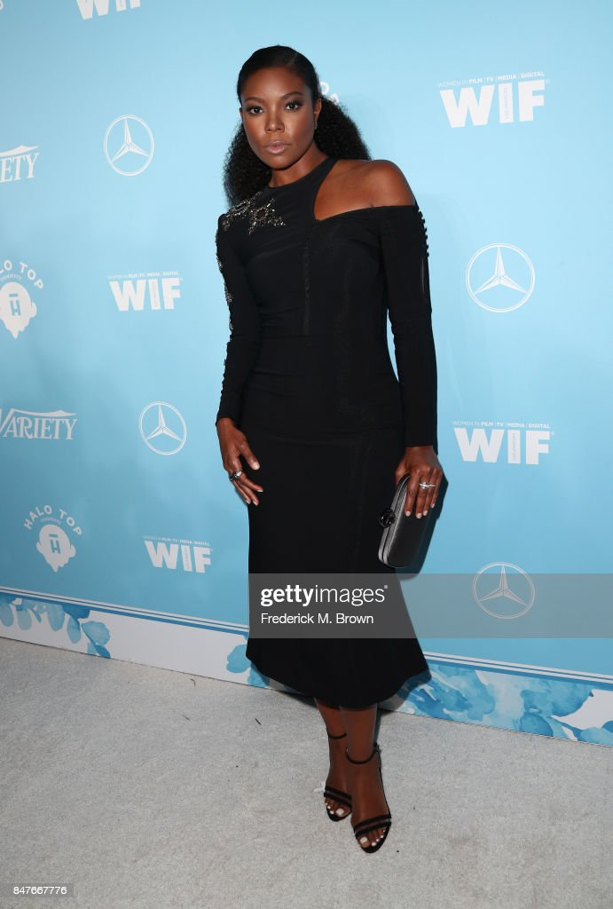 Gabrielle Union attends the Variety and Women In Film's 2017 Pre-Emmy Celebration at Gracias Madre on September 15, 2017 in West Hollywood, California.