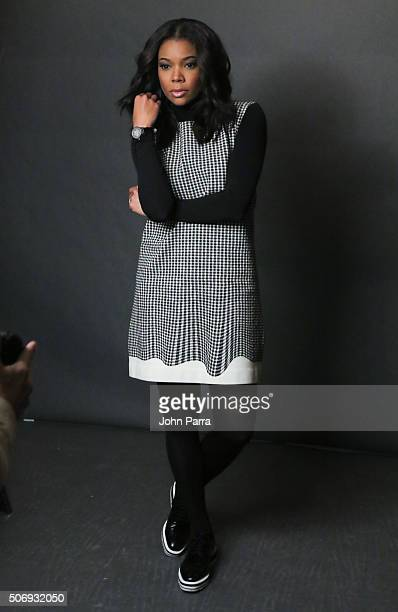 Gabrielle Union from the film 'Birth of a Nation' posed for a portrait during The Hollywood Reporter 2016 Sundance Studio At Rock Reilly's Day 4 2016...
