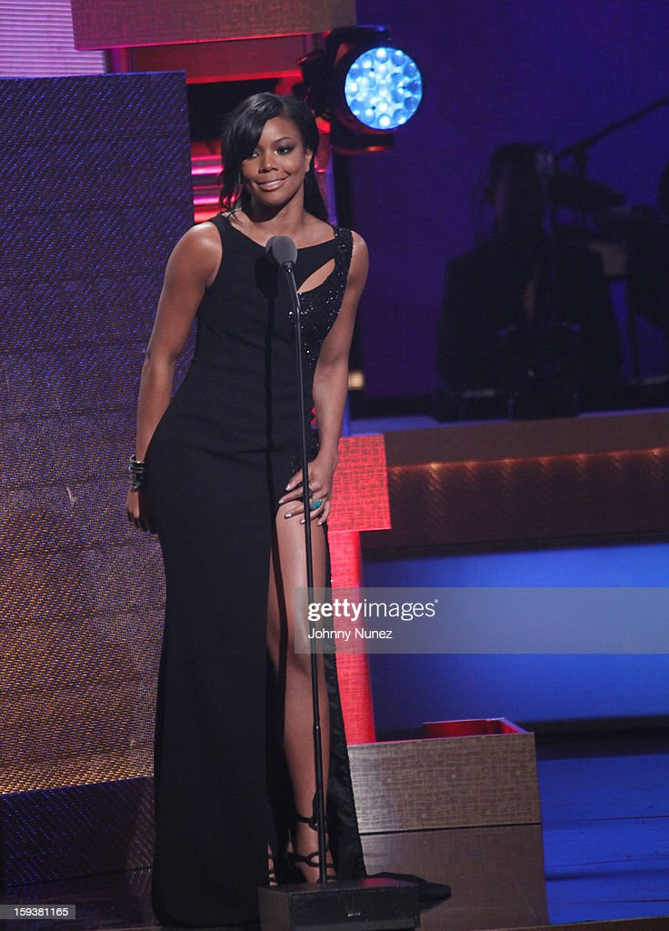 <a gi-track='captionPersonalityLinkClicked' href=/galleries/search?phrase=Gabrielle+Union&family=editorial&specificpeople=202066 ng-click='$event.stopPropagation()'>Gabrielle Union</a> hosts the BET Honors 2013 at Warner Theatre on January 12, 2013 in Washington, DC.