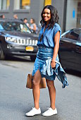 Gabrielle Union is seen in the Meatpacking District on July 9 2015 in New York City