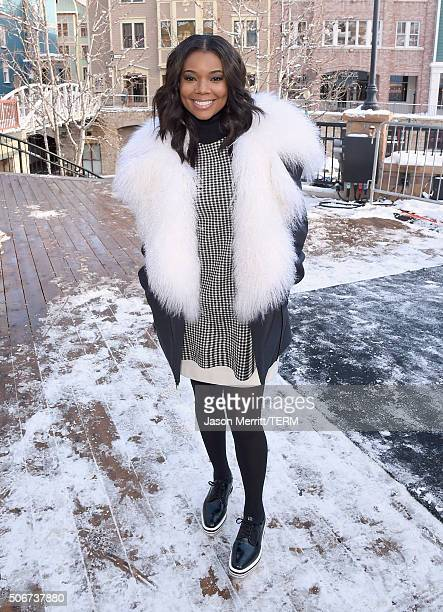 Gabrielle Union is seen on January 25 2016 in Park City Utah