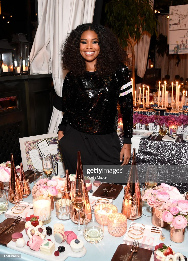Gabrielle Union launches Shutterfly Holiday Gift Collection at seasonal shopping event at Gramercy Park Hotel on November 13, 2017 in New York City.