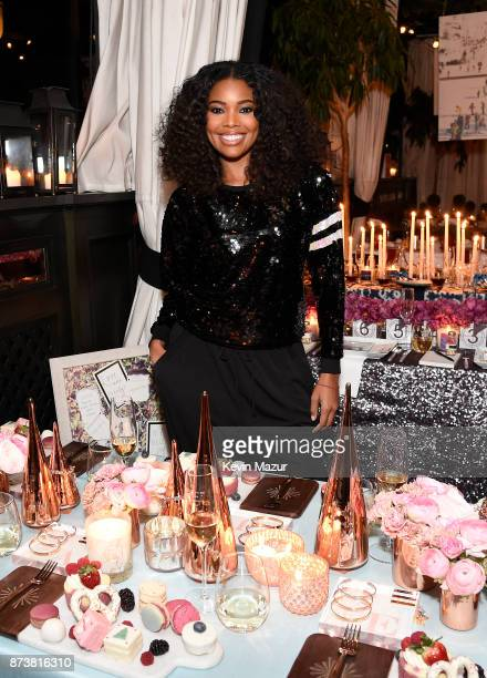 Gabrielle Union launches Shutterfly Holiday Gift Collection at seasonal shopping event at Gramercy Park Hotel on November 13 2017 in New York City