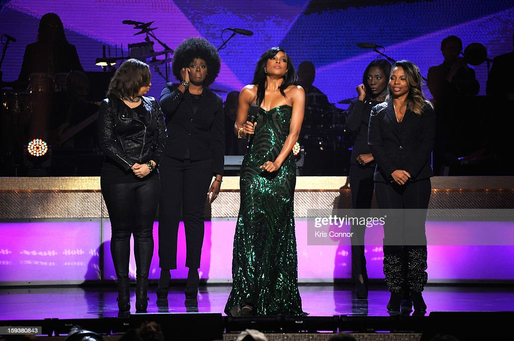 Gabrielle Union (C) onstage at BET Honors 2013 at Warner Theatre on January 12, 2013 in Washington, DC.
