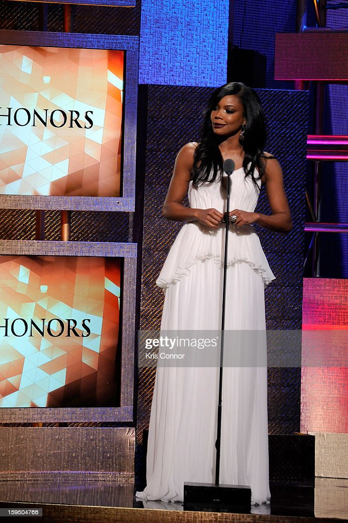 Gabrielle Union onstage at BET Honors 2013 at Warner Theatre on January 12, 2013 in Washington, DC.
