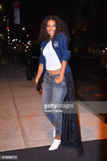 Gabrielle Union seen out in Manhattan on November 15 2017 in New York City