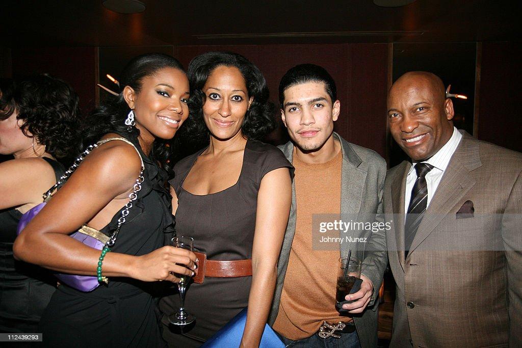 Gabrielle Union, Tracee Ellis Ross, Rick Gonzalez and John Singleton