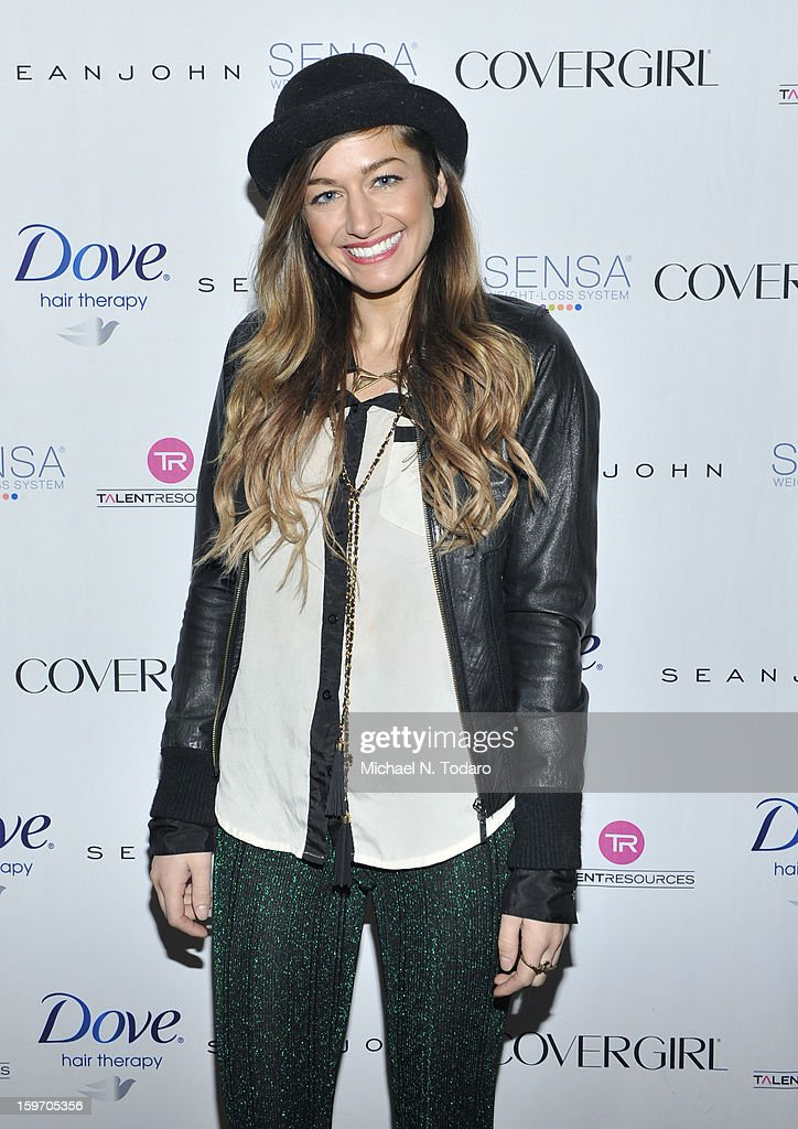 Gabrielle Wortman attends the TR Suites Daytime Lounge - Day 1 on January 18, 2013 in Park City, Utah.