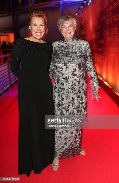 Gaby Dohm and Grit Boettcher during the Bambi Awards 2015 at Stage Theater on November 12 2015 in Berlin Germany