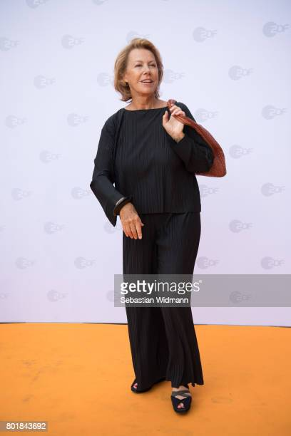 Gaby Dohm arrives at the ZDF reception during the Munich Film Festival at Hugo's on June 27 2017 in Munich Germany