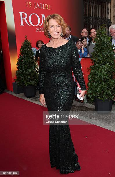 Gaby Dohm attends the 25th Romy Award 2014 at Hofburg Vienna on April 26 2014 in Vienna Austria