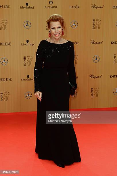 Gaby Dohm attends the Bambi Awards 2015 at Stage Theater on November 12 2015 in Berlin Germany