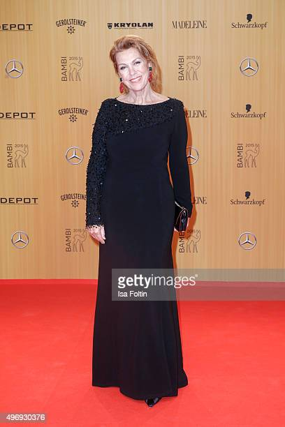 Gaby Dohm attends the Kryolan At Bambi Awards 2015 Red Carpet Arrivals on November 12 2015 in Berlin Germany