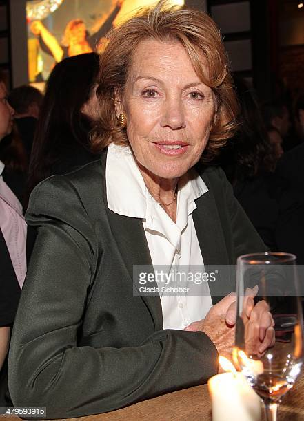 Gaby Dohm attends the NDF After Work Presse Cocktail at Parkcafe on March 19 2014 in Munich Germany