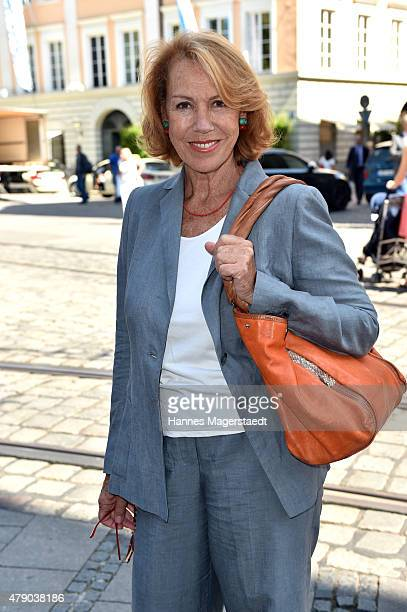 Gaby Dohm attends the ZDF reception during the Munich Film Festival at Hugo's on June 30 2015 in Munich Germany