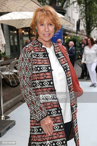 Gaby Dohm during the Peugeot BVC Casting Night during the Munich Film Festival 2016 at Kaeferschaenke on June 26 2016 in Munich Germany