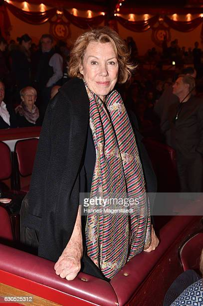Gaby Dohm during the premiere of 'Tierisch gut' at Circus Krone on December 25 2016 in Munich Germany