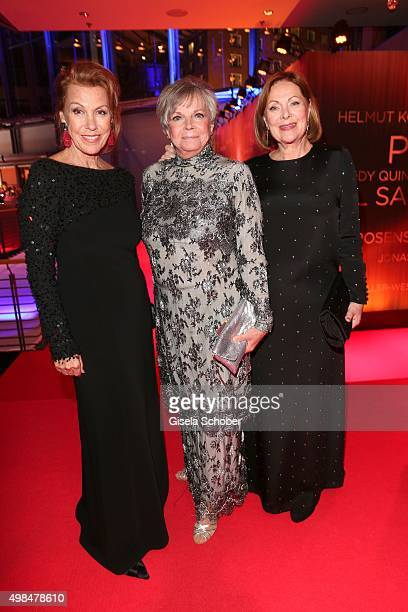 Gaby Dohm Grit Boettcher and Heide Keller during the Bambi Awards 2015 at Stage Theater on November 12 2015 in Berlin Germany