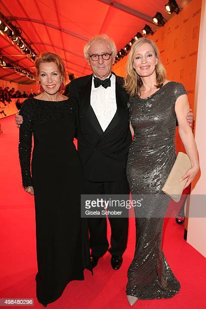 Gaby Dohm Guenther Maria Halmer during the Bambi Awards 2015 at Stage Theater on November 12 2015 in Berlin Germany